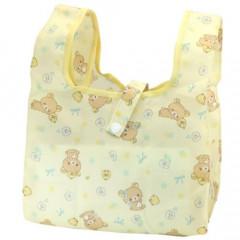 Japan San-X Convenience Eco Shopping Bag - Rilakkuma / Cream