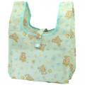 Japan San-X Convenience Eco Shopping Bag - Rilakkuma / Mentha Green - 1