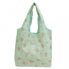 Japan San-X Smart Eco Shopping Bag - Rilakkuma / Mint