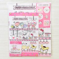 Japan Sanrio Letter Envelope Set - Lab