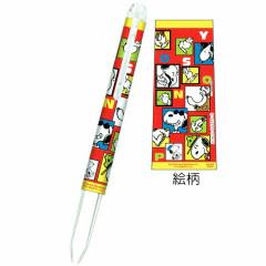 Japan Peanuts Hi-Tec-C Coleto 3 Barrel - Snoopy / Grid