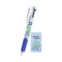 Japan Disney Jetstream 3 Color Multi Ball Pen - Alice
