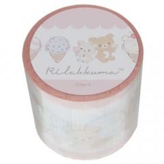 Japan San-X Yojo Masking Tape - Rilakkuma / Ice Cream