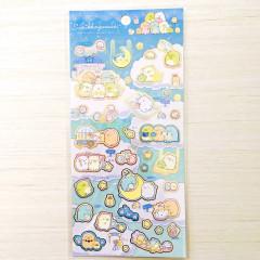 Japan San-X Sumikko Gurashi Sticker - Starry Sky Walk / Cloud