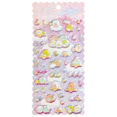 Japan San-X Bubble Aurora Foil Sticker - Sumikko Gurashi / Starry Sky Walk