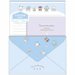 Japan Sanrio Letter Envelope Set - Dreaming Blue