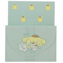 Japan Sanrio Letter Envelope Set - Pompompurin / Pop Rush