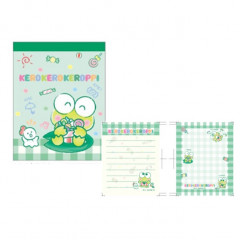 Japan Sanrio Mini Notepad - Keroppi / Sweets