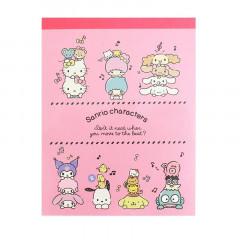 Japan Sanrio Mini Notepad - Music