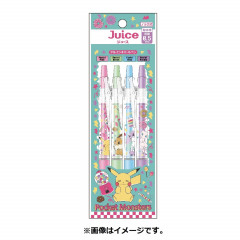 Japan Pokemon Juice Gel Pen 4pcs Set A