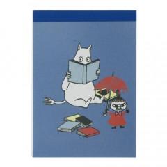 Japan Moomin Mini Notepad - Reading