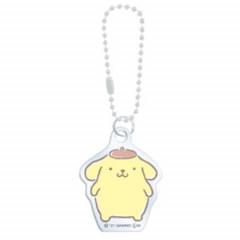 Japan Sanrio Mini Keychain - Pompompurin