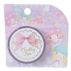 Japan Sanrio Takeimiki Washi Paper Masking Tape - Little Twin Stars / Fantasy