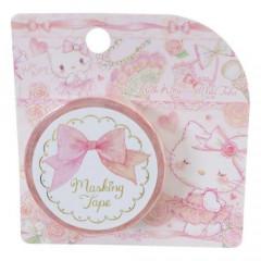 Japan Sanrio Takeimiki Washi Paper Masking Tape - Hello Kitty / Sweet Etoile