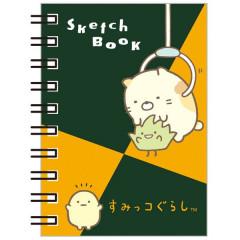 Japan San-X Sumikko Gurashi B8 Sketch Book - Neko & Tokage