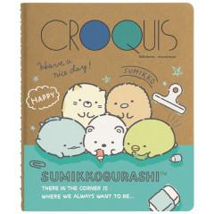 Japan San-X Sumikko Gurashi Croquis Book - Everyone