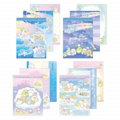 Japan San-X Mini Notepad Set - Sumikko Gurashi / Starry Sky Walk