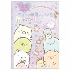 Japan San-X A6 Practice Notepad - Sumikko Gurashi / Pink