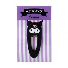 Japan Sanrio Acrylic Hair Clip - Kuromi