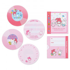 Japan Sanrio Disc Record Memo Pad - My Melody