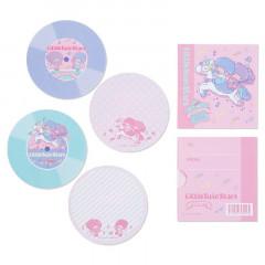 Japan Sanrio Disc Record Memo Pad - Little Twin Stars