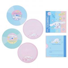 Japan Sanrio Disc Record Memo Pad - Cinnamoroll