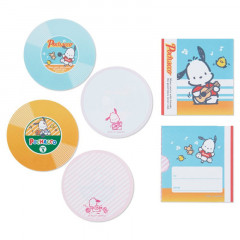 Japan Sanrio Disc Record Memo Pad - Pochacco