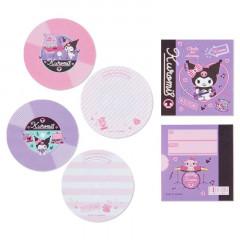 Japan Sanrio Disc Record Memo Pad - Kuromi