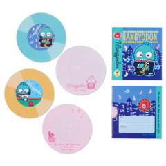 Japan Sanrio Disc Record Memo Pad - Hangyodon