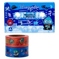 Japan Sanrio Cassette Washi Masking Tape Set - Hangyodon