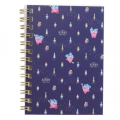 Japan Kirby B7 Twin Ring Notebook - Mystic Perfume Navy
