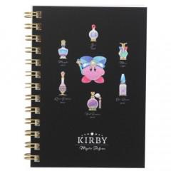 Japan Kirby B7 Twin Ring Notebook - Mystic Perfume Black