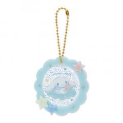 Japan Sanrio Acrylic Keychain - Cinnamoroll / Starry Sky