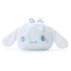 Japan Sanrio Die-cut Drawstring Bag - Cinnamoroll / Starry Sky
