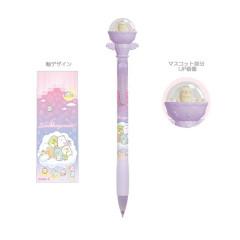 Japan San-X Sumikko Gurashi Mascot Mechanical Pencil - Neko Cat / Starry Sky Walk