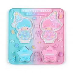 Japan Sanrio Acrylic Stand Stamp Set - Little Twin Stars / 45th Anniversary