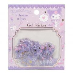 Sanrio Gel Sticker - Kuromi