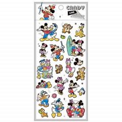 Japan Disney Candy Like Sticker - Mickey & Friends
