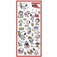 Japan Peanuts Candy Like Sticker - Snoopy Family