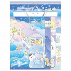 Japan San-X Sumikko Gurashi Letter Envelope Set - Starry Sky Walk A