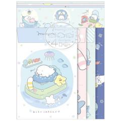 Japan San-X Letter Envelope Set - Mamegoma / At Home