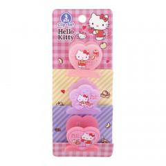 Sanrio Plastic Clip Set - Hello Kitty