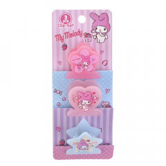 Sanrio Plastic Clip Set - My Melody