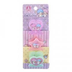Sanrio Plastic Clip Set - Little Twin Stars