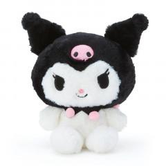 Japan Sanrio Fluffy Plush Toy (S) - Kuromi