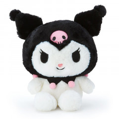 Japan Sanrio Fluffy Plush Toy (M) - Kuromi