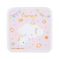 Japan Sanrio Handkerchief Petit Towel - Cogimyun / Cogimyon Party