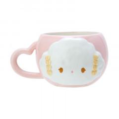 Japan Sanrio Relief Mug - Cogimyun / Cogimyon Party