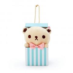 Japan Sanrio Keychain Mascot - Cinnamoroll Bear / Crown