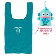 Japan Sanrio Keychain Plush Shopping Bag - Hangyodon